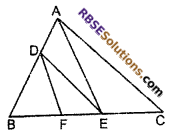 RBSE Solutions for Class 10 Maths Chapter 11 Similarity Additional Questions 11