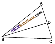 RBSE Solutions for Class 10 Maths Chapter 11 Similarity Additional Questions 12