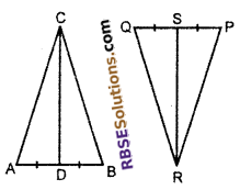 RBSE Solutions for Class 10 Maths Chapter 11 Similarity Additional Questions 16