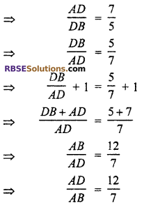 RBSE Solutions for Class 10 Maths Chapter 11 Similarity Additional Questions 18