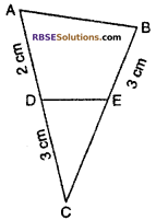 RBSE Solutions for Class 10 Maths Chapter 11 Similarity Additional Questions 2