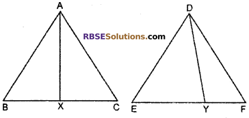 RBSE Solutions for Class 10 Maths Chapter 11 Similarity Additional Questions 23