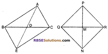 RBSE Solutions for Class 10 Maths Chapter 11 Similarity Additional Questions 25