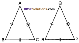 RBSE Solutions for Class 10 Maths Chapter 11 Similarity Additional Questions 5