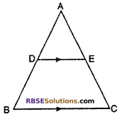 RBSE Solutions for Class 10 Maths Chapter 11 Similarity Additional Questions 9