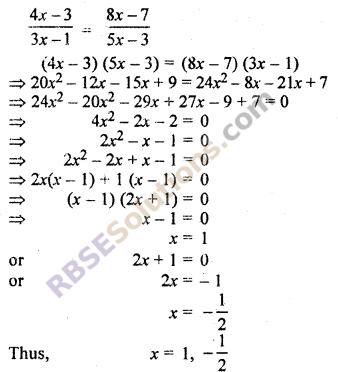 RBSE Solutions for Class 10 Maths Chapter 11 Similarity Ex 11.2 3