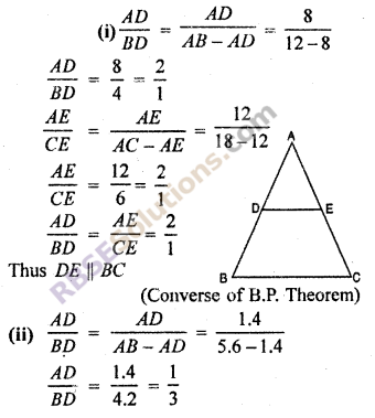 RBSE Solutions for Class 10 Maths Chapter 11 Similarity Ex 11.2 4