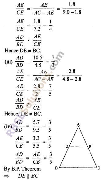 RBSE Solutions for Class 10 Maths Chapter 11 Similarity Ex 11.2 5