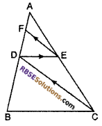 RBSE Solutions for Class 10 Maths Chapter 11 Similarity Ex 11.2 8