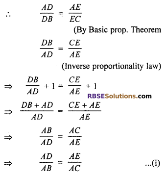 RBSE Solutions for Class 10 Maths Chapter 11 Similarity Ex 11.2 9