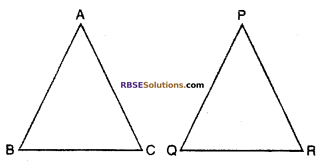RBSE Solutions for Class 10 Maths Chapter 11 Similarity Ex 11.3 1