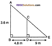 RBSE Solutions for Class 10 Maths Chapter 11 Similarity Ex 11.3 14