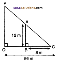 RBSE Solutions for Class 10 Maths Chapter 11 Similarity Ex 11.3 15