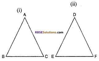 RBSE Solutions for Class 10 Maths Chapter 11 Similarity Ex 11.3 2