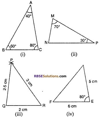 RBSE Solutions for Class 10 Maths Chapter 11 Similarity Ex 11.3 3