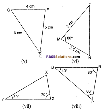 RBSE Solutions for Class 10 Maths Chapter 11 Similarity Ex 11.3 4
