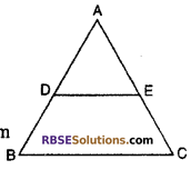 RBSE Solutions for Class 10 Maths Chapter 11 Similarity Miscellaneous Exercise 1