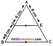 RBSE Solutions for Class 10 Maths Chapter 11 Similarity Miscellaneous Exercise 12
