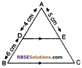 RBSE Solutions for Class 10 Maths Chapter 11 Similarity Miscellaneous Exercise 2