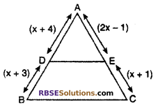 RBSE Solutions for Class 10 Maths Chapter 11 Similarity Miscellaneous Exercise 4