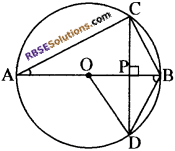 RBSE Solutions for Class 10 Maths Chapter 12 वृत्त Additional Questions 29