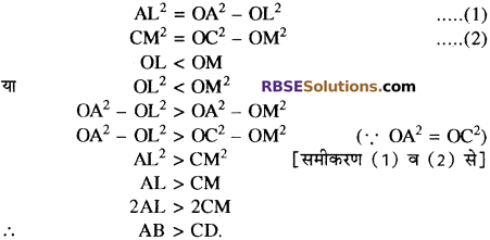 RBSE Solutions for Class 10 Maths Chapter 12 वृत्त Additional Questions 31