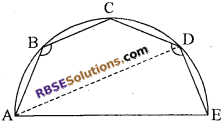 RBSE Solutions for Class 10 Maths Chapter 12 वृत्त Additional Questions 36