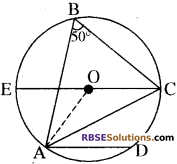 RBSE Solutions for Class 10 Maths Chapter 12 वृत्त Additional Questions 50