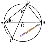 RBSE Solutions for Class 10 Maths Chapter 12 वृत्त Additional Questions 71