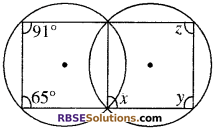 RBSE Solutions for Class 10 Maths Chapter 12 वृत्त Additional Questions 86