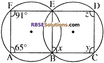 RBSE Solutions for Class 10 Maths Chapter 12 वृत्त Additional Questions 87