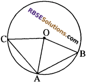 RBSE Solutions for Class 10 Maths Chapter 12 वृत्त Additional Questions 90