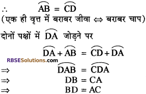 RBSE Solutions for Class 10 Maths Chapter 12 वृत्त Ex 12.2 17