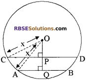 RBSE Solutions for Class 10 Maths Chapter 12 वृत्त Ex 12.2 2