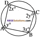 RBSE Solutions for Class 10 Maths Chapter 12 वृत्त Ex 12.4 3