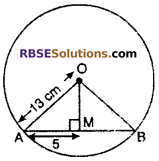 RBSE Solutions for Class 10 Maths Chapter 12 Circle Ex 12.2 1