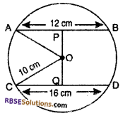 RBSE Solutions for Class 10 Maths Chapter 12 Circle Ex 12.2 10