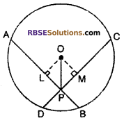 RBSE Solutions for Class 10 Maths Chapter 12 Circle Ex 12.2 12