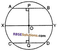 RBSE Solutions for Class 10 Maths Chapter 12 Circle Ex 12.2 13