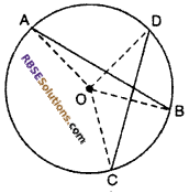 RBSE Solutions for Class 10 Maths Chapter 12 Circle Ex 12.2 4