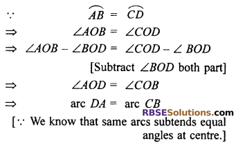 RBSE Solutions for Class 10 Maths Chapter 12 Circle Ex 12.2 5