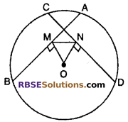 RBSE Solutions for Class 10 Maths Chapter 12 Circle Ex 12.2 6