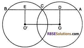 RBSE Solutions for Class 10 Maths Chapter 12 Circle Ex 12.2 7