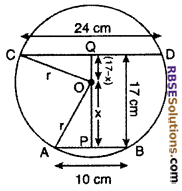 RBSE Solutions for Class 10 Maths Chapter 12 Circle Ex 12.2 8