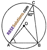 RBSE Solutions for Class 10 Maths Chapter 12 Circle Ex 12.3 11