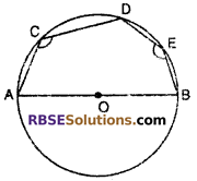 RBSE Solutions for Class 10 Maths Chapter 12 Circle Ex 12.3 12