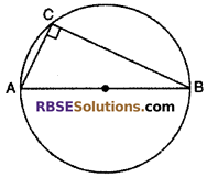RBSE Solutions for Class 10 Maths Chapter 12 Circle Ex 12.3 2