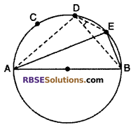 RBSE Solutions for Class 10 Maths Chapter 12 Circle Ex 12.3 3