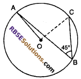 RBSE Solutions for Class 10 Maths Chapter 12 Circle Ex 12.3 4