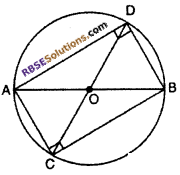 RBSE Solutions for Class 10 Maths Chapter 12 Circle Ex 12.3 6